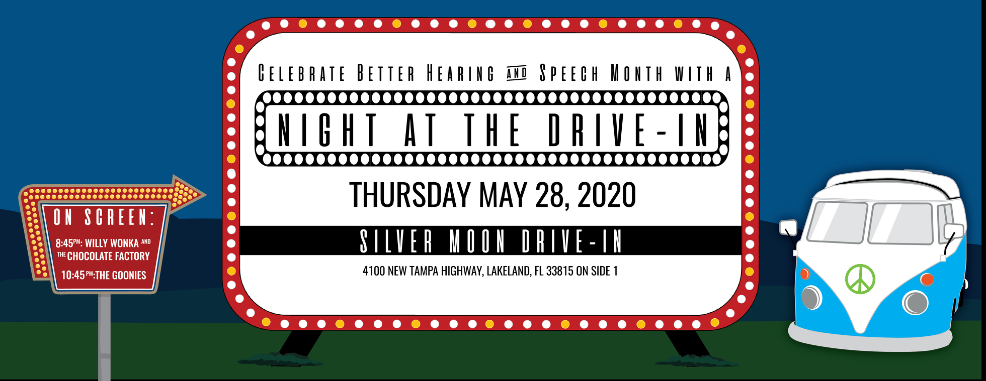Celebrate Better Hearing & Speech Month at the Drive-In!